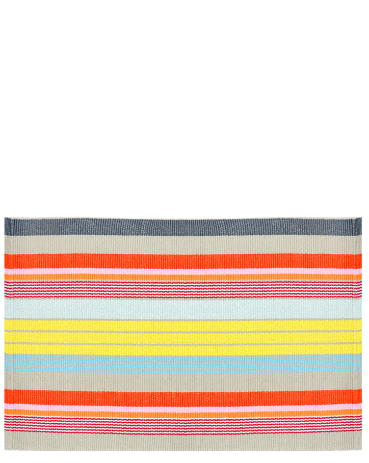 Paint Palette Striped Rug - LEIF