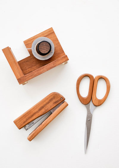 Teakwood Desk Accessories