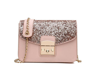 Herald Fashion Women Sequined Messenger Bag