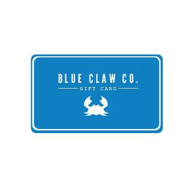 Blue Claw Gift Card