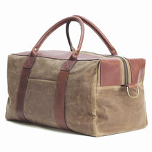 Waxed Worton Weekender, Tan