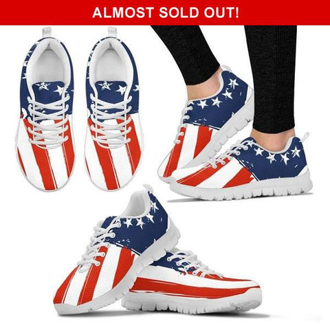 Limited Edition: Betsy Ross American Flag Sneakers