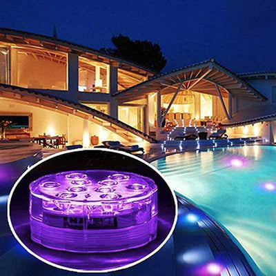 【buy 3 get extra 15% OFF】LED Remote Control Colorful Diving Lights - IlifeGadgets