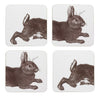 Rabbit Coaster Set - annabeljames