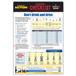 Don't drink and drive - Essential Checklist