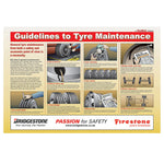 Guidelines to Tyre Maintenance - Poster