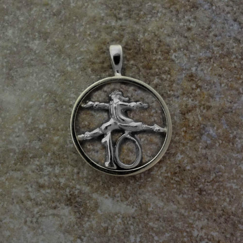 Ten Lords a-Leaping Pendant handmade in Sterling or 14k Gold by All Animal Jewelry