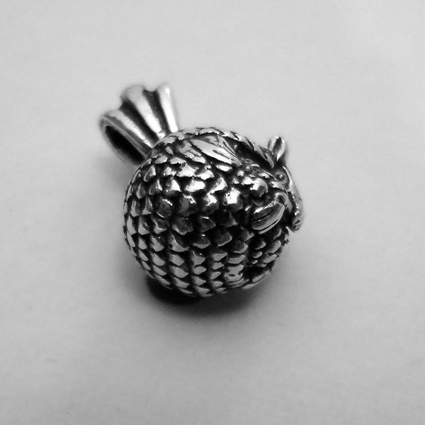 Armadillo Pendant handmade in Sterling or 14k gold hand made by All Animal Jewelry