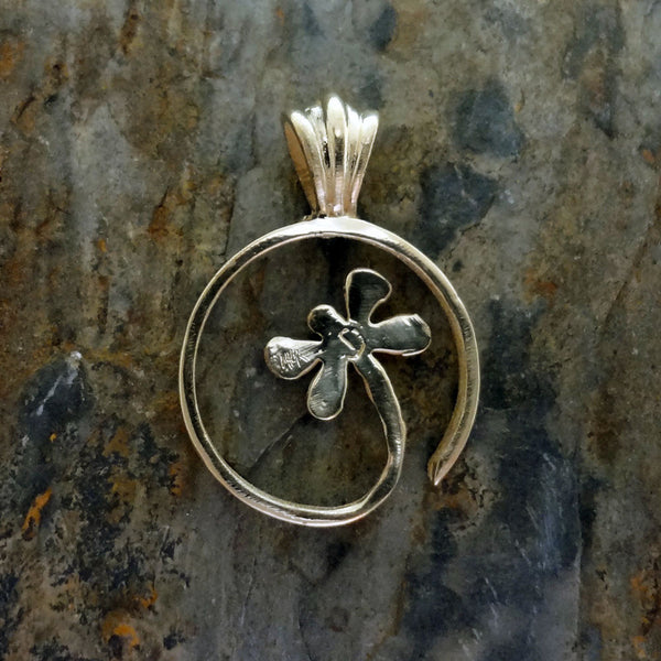 Dragonfly Pendant handmade in Sterling or 14k Gold by Tosa Fine Jewelry