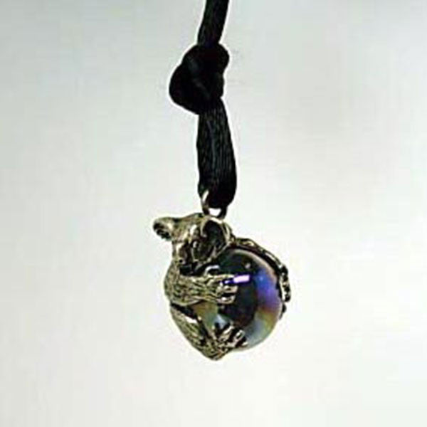 Koala Pawjama Pendant handmade in Sterling or 14k Gold by Tosa Fine Jewelry