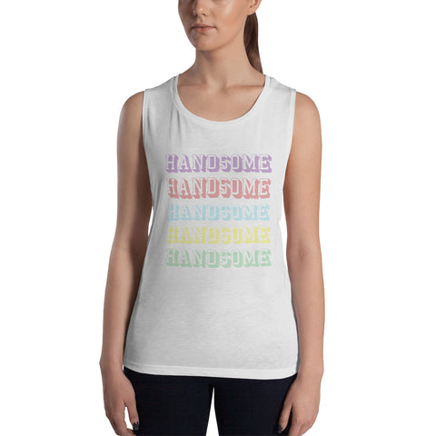 Handsome on Repeat Muscle Tank
