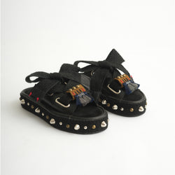 Croco Warrior Slider Black