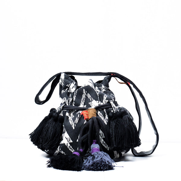Large Drawstring Bags Charcoal