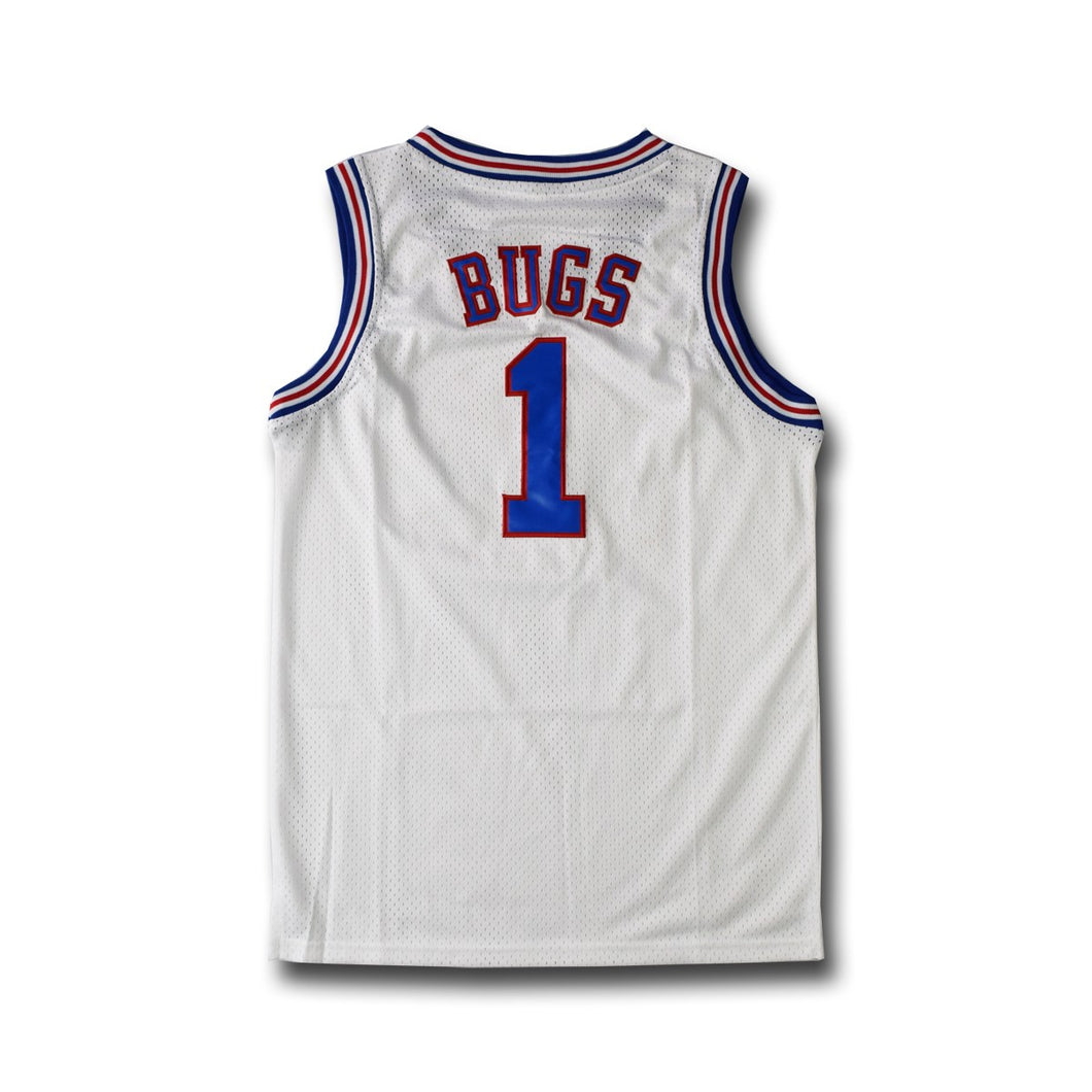 Jersey Basket Blanc Style SPACE JAM Bugs