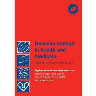 Paramedic Shop Cambridge University Press Textbooks Decision Making in Health and Medicine