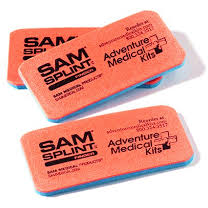 Paramedic Shop Ferno Australia Immobilisation SAM Splint Finger Orange Blue