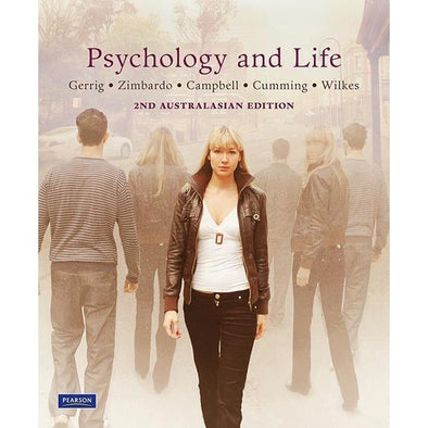 Paramedic Shop Pearson Education Textbooks Psychology & Life + MyPsychLab (Australian Edition)