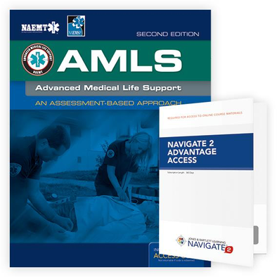 Paramedic Shop PSG Learning Textbooks Advanced Medical Life Support (AMLS): 2nd Edition - NAEMT