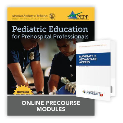 Paramedic Shop PSG Learning Textbooks Pediatric Education for Prehospital Professionals (PEPP): eBook: 3rd Edition - NAEMT/AAP