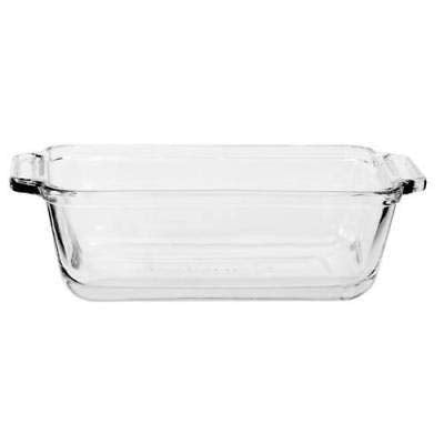 Anchor Hocking Oven Basics Bake Set (Mini Loaf Dish = Set of 2)