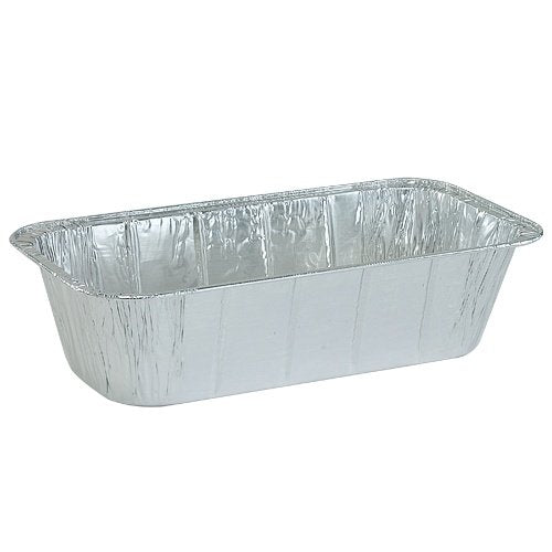 Nicole Home Collection 00602 Aluminum Loaf Pan, 1/3 Size, 5 lb. (Pack of 200)