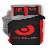 Beats Audio Logo Custom Bedding Set Duvet Cover