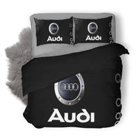 Audi Logo Custom Bedding Set Duvet Cover