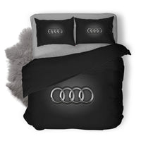 Audi Logo Custom Bedding Set Duvet Cover #1