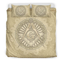 3D Customize Masonic Freemason  Bedding Set Duvet Cover #2