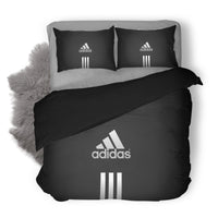 Adidas Logo Custom Bedding Set Duvet Cover #5