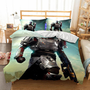 3D Bedding Wholesale Game DESTINY2 Printed 2 Bedding Sets Duvet Cover Set