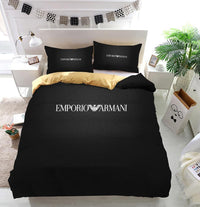 Armani Logo Custom  Bedding Set (Duvet Cover & Pillowcases)