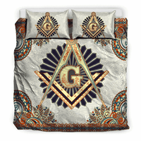 3D Customize Masonic Freemason  Bedding Set Duvet Cover #3