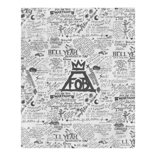 Fall Out Boy #2 – Bedding Set (Duvet Cover & Pillowcases)