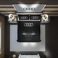 Audi Logo Custom Bedding Set #5(Duvet Cover & Pillowcases)