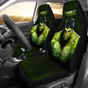 Hulk (2 Styles) - Car Seat Covers (2pc Set)