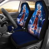 Goku Mastered Ultra Instinct Dragon Ball Car Seat Covers