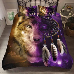 3D  Dreamcatcher Print Duvet Cover