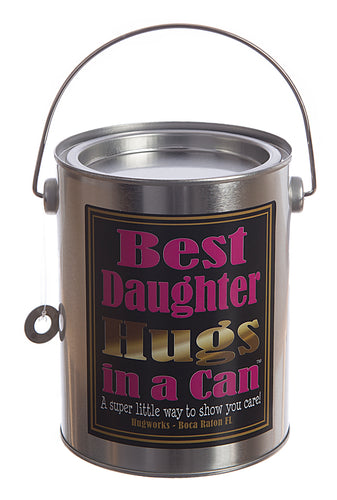 Hugs in a Can Best Daughter Hugs in a Can Hug