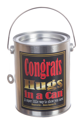 Congrats Hugs in a Can, send a gift of congratulations.