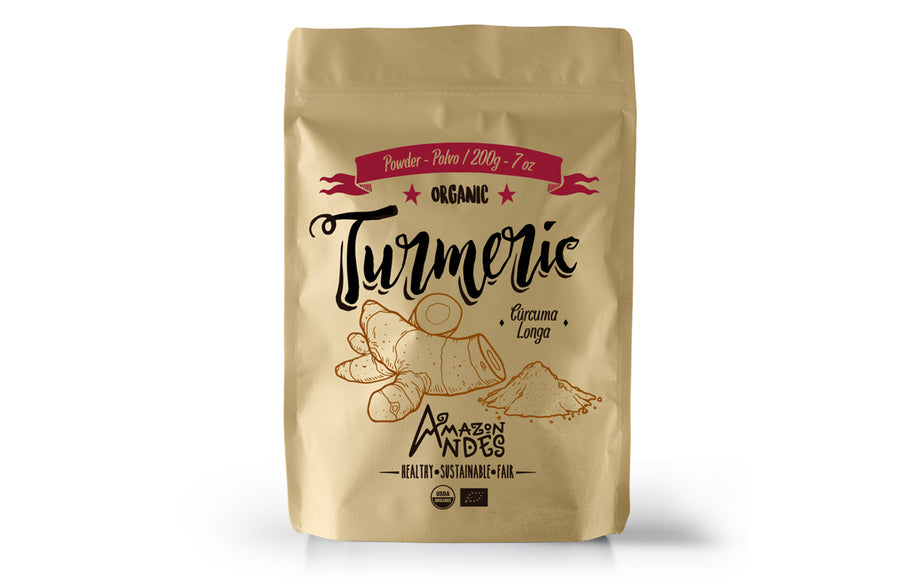 Turmeric Powder (200 g – 7 oz) – USDA NOP and EU organic