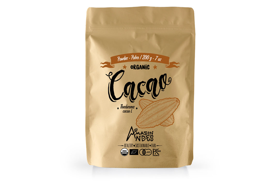 Cacao Powder (200 g – 7 oz) – Organic USDA, JAS, EU and kosher