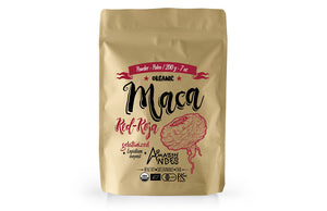 Red Maca Powder 200 g – 7 oz – organic EU, USDA, JAS and kosher