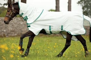 Horseware Ireland Aussie All rounder fly rug on horse