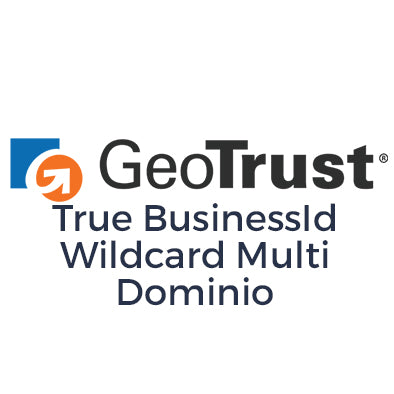 Certificado SSL GeoTrust SSL True BusinessID Wildcard Multi Dominio