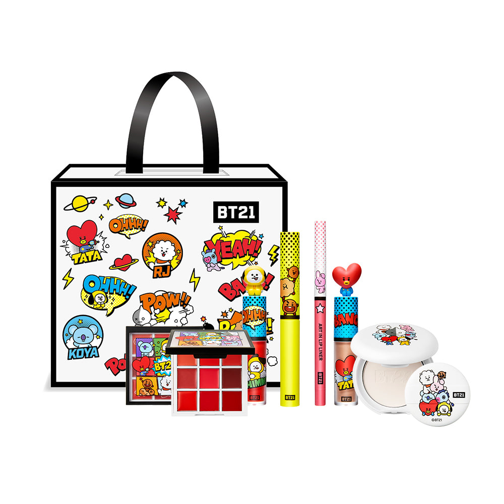 VT x BTS ~ ART IN LUCKY BOX (Coffret BT21_VT 2nd Edition) Tirage au Sort