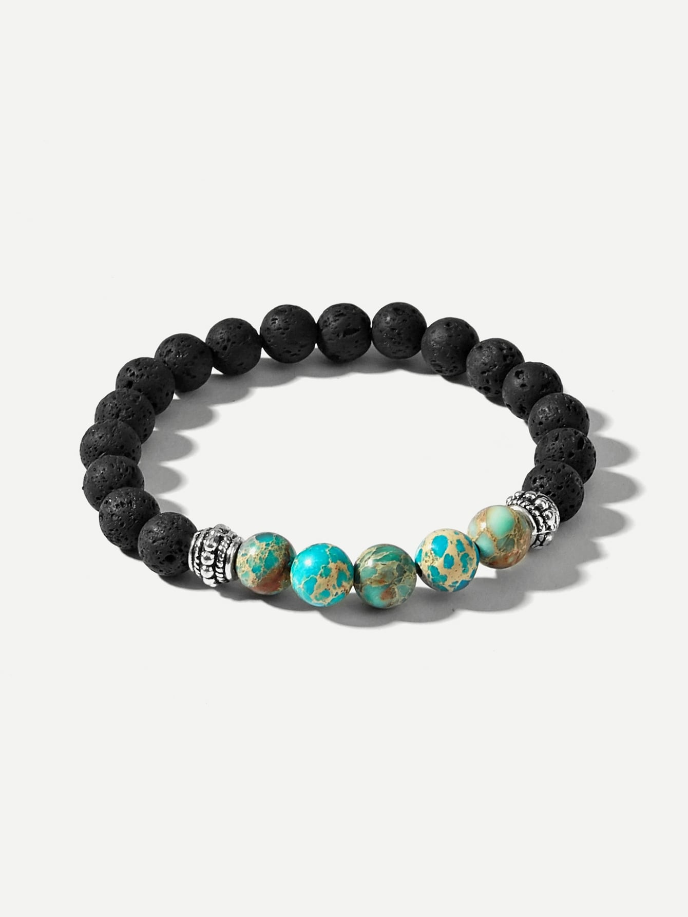 Earth Beaded Bracelet