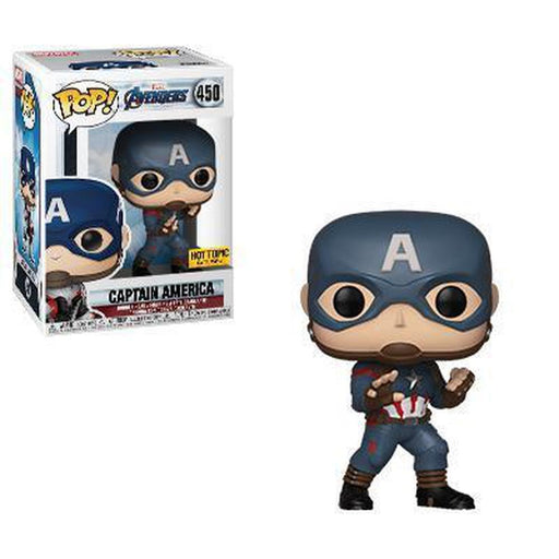 Funko Pop Movie: Avengers Endgame Captain America (Original Suit) #450 (Pre-Order)-Fumble Pop!