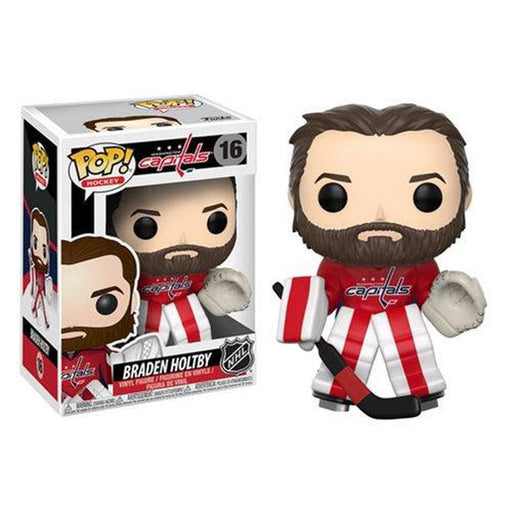 Funko Pop! NHL: Braden Holtby Pop! Vinyl Figure #16-Fumble Pop!
