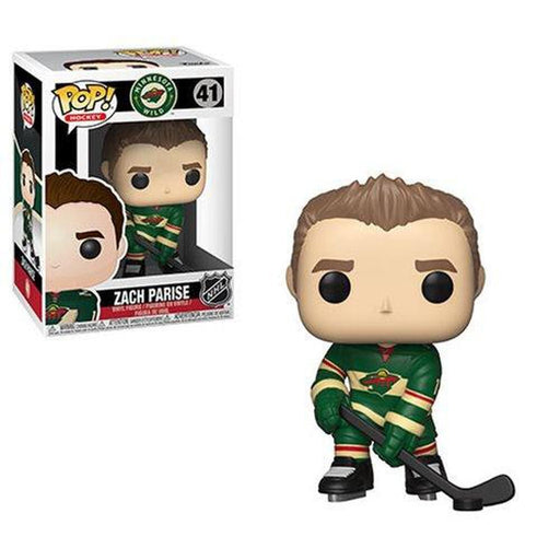 Funko Pop! NHL: Zach Parise Wild Pop! Vinyl Figure #41-Fumble Pop!